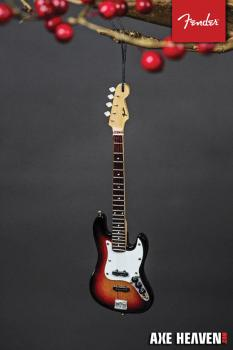 Fender Sunburst Jazz Bass - 6 inch. Holiday Ornament (HL-00139456)