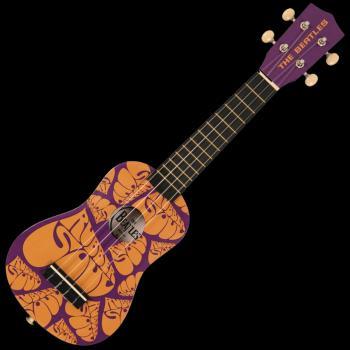The Beatles Ukulele: Rubber Soul Design: Nylon Strung Soprano Ukulele (HL-00359714)