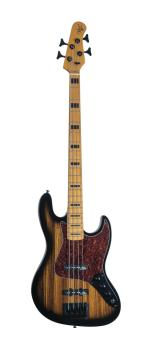Vintage Element 4 Zebra Burst Electric Bass (HL-00348023)