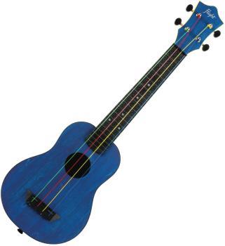 Blue Kids Soprano Concert Scale Ukulele: Travel Series, Longneck - Mod (HL-00359136)