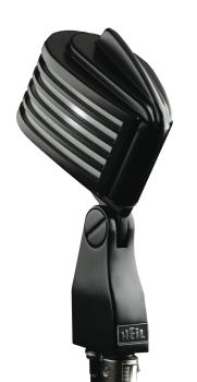 The Fin - Black Body/White LED: Retro-Styled Dynamic Cardioid Micropho (HL-00364929)