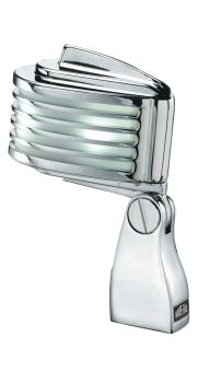 The Fin - Chrome Body/White LED: Retro-Styled Dynamic Cardioid Microph (HL-00364932)