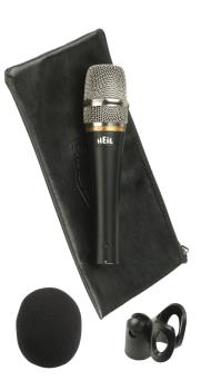PR20-UT: Utility Handheld Microphone with Mic Clip and Windscreen (HL-00364938)