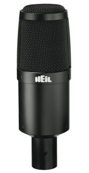 PR30B: Large-Diaphragm Dynamic Microphone with Black Body and Grill (HL-00364993)