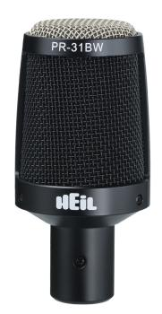 PR31BW: Large Diameter Short Body Microphone for Cymbals & Toms (HL-00364994)