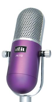 PR77D - Purple: Deco Series Dynamic Microphone with PR40 Element (HL-00365007)
