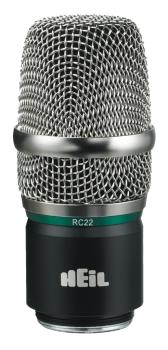 RC 22 - Nickel: Replacement Wireless Capsule for PR22 Microphone (HL-00365008)