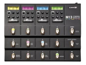 M13 Stompbox Modeler Guitar Multi-Effect Pedal (LI-00123034)
