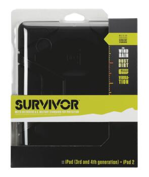 Survivor for iPad 2, iPad 3 and iPad (4th Gen): Military-Duty Case wit (GR-00123990)