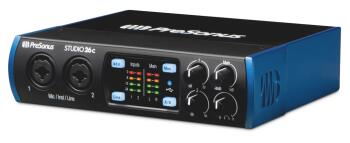 Studio 26c: USB-C Audio Interface with StudioOne® Artist Software (HL-00293757)