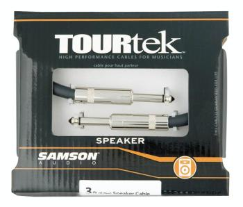 Tourtek Speaker Cables: 3-Foot Speaker Cable, 1/4-Inch Connectors (SA-00140161)