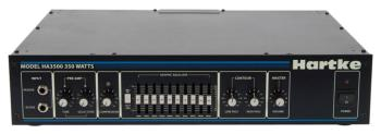 HA3500 Bass Amplifier: 350 watt Bass Head, Tube and Solid State Emulat (HR-00140169)
