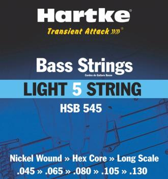 Hartke Transient Attack Bass Strings (Light 5 String) (HR-00140189)