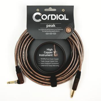 Premium High-Copper Instrument Metal Cable with Silent Plug: Peak Seri (HL-03719664)