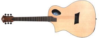 Forte Port Lefty: Left-Handed Acoustic/Electric Guitar (HL-00368006)