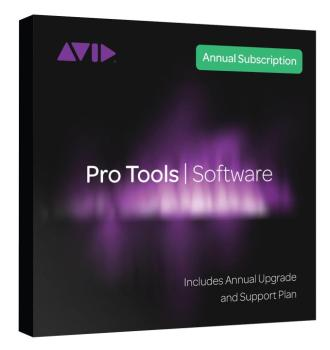 Pro Tools Annual Subscription (Card + iLok) (1-Year Subscription) (AV-00146112)