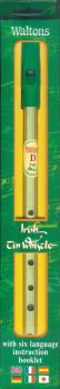 Irish Tin Whistle: Brass Whistle in D with Six-Language Instruction Bo (HL-00634121)