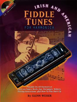 Irish and American Fiddle Tunes for Harmonica (HL-00000232)