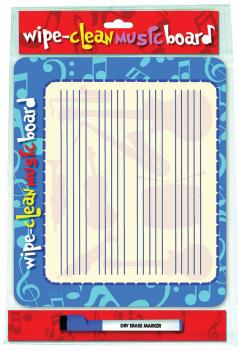 Wipe Clean Music Board (Landscape Edition) (HL-14036221)