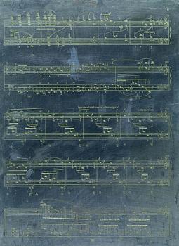 Original Music Engraving Plate (HL-51488010)