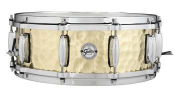 Gretsch Hammered Brass Snare Drum (5x14) (HL-00776421)