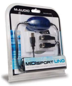 Uno: 1 In / 1 Out MIDI Interface (MA-00633032)