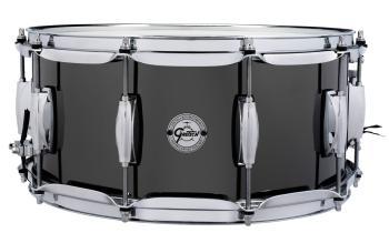 Gretsch Black Nickel over Steel Snare Drum (6.5x14) (HL-00777750)