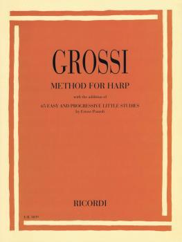 Method for Harp (with 65 Easy & Progressive Little Studies) (HL-50601266)
