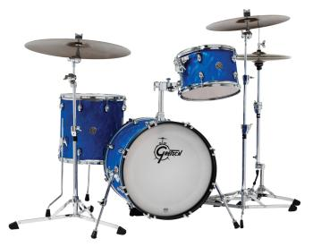 Gretsch Catalina Club 3 Piece Shell Pack (20/12/14) (Blue Satin Flame) (HL-00286480)