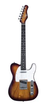 53OP Tobacco Burst Chrome Electric Guitar (HL-00347989)