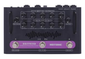 BritWind: Nano Legacy Floor Series Portable Dual Channel Floor Amplifi (HL-00276699)