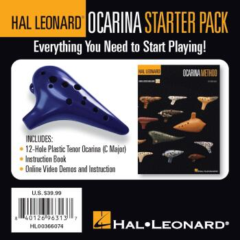Hal Leonard Ocarina Starter Pack: Everything You Need to Start Playing (HL-00366074)