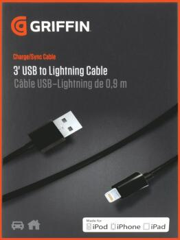 3' USB to Lightning Cable (GR-00124896)