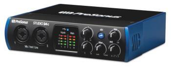Studio 24c: USB-C Audio Interface with StudioOne® Artist Software (HL-00293756)