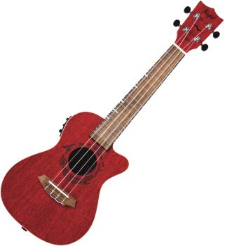 Coral Mahogany Electro-Acoustic Concert Ukulele: Gemstone Series - Mod (HL-00322773)