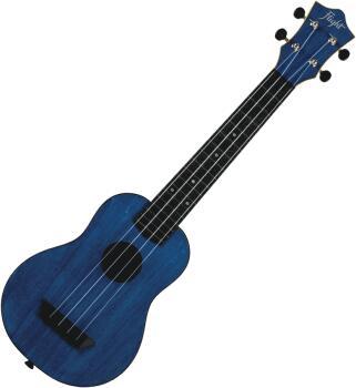 Dark Blue Soprano Ukulele with Concert Neck: Travel Series - Model TUS (HL-00322862)