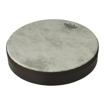 Fiberskyn® Frame Drum: 10 inch. Diameter, 2 inch. Deep Drum with Acous (HL-03703687)