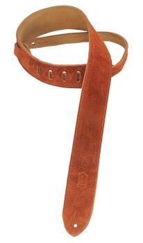 Suede Guitar Strap - Copper: Classics Series - 2 inch. Wide (HL-03719525)
