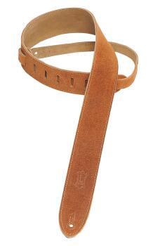 Suede Guitar Strap - Honey: Classics Series - 2 inch. Wide (HL-03719526)