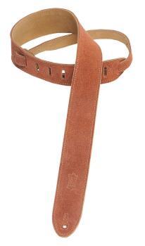 Suede Guitar Strap - Rust: Classics Series - 2 inch. Wide (HL-03719527)
