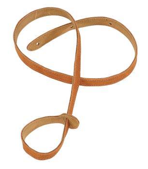 Suede Mandolin Strap - Honey: Folk Instruments Series - 3/4 inch. Wide (HL-03719528)