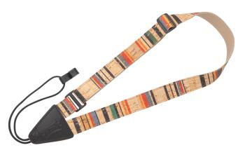 Cork Ukulele/Classical Strap - Stripe: Folk Instruments Series - 1 inc (HL-03719529)