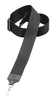 Soft-Hand Polypropylene Banjo Strap - Black: Folk Instruments Series - (HL-03719534)