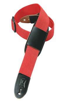 Polypropylene Guitar/Ukulele Strap - Red/Black Ribbon: Youth Series -  (HL-03719558)