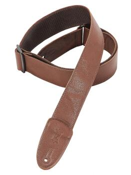 Garment Leather Guitar Strap - Brown: Classics Series - 2 inch. Wide (HL-03719573)