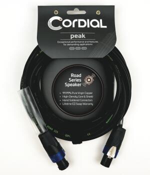 Premium Speaker Road Cable with speakON to speakON Connectors: Select  (HL-03719646)